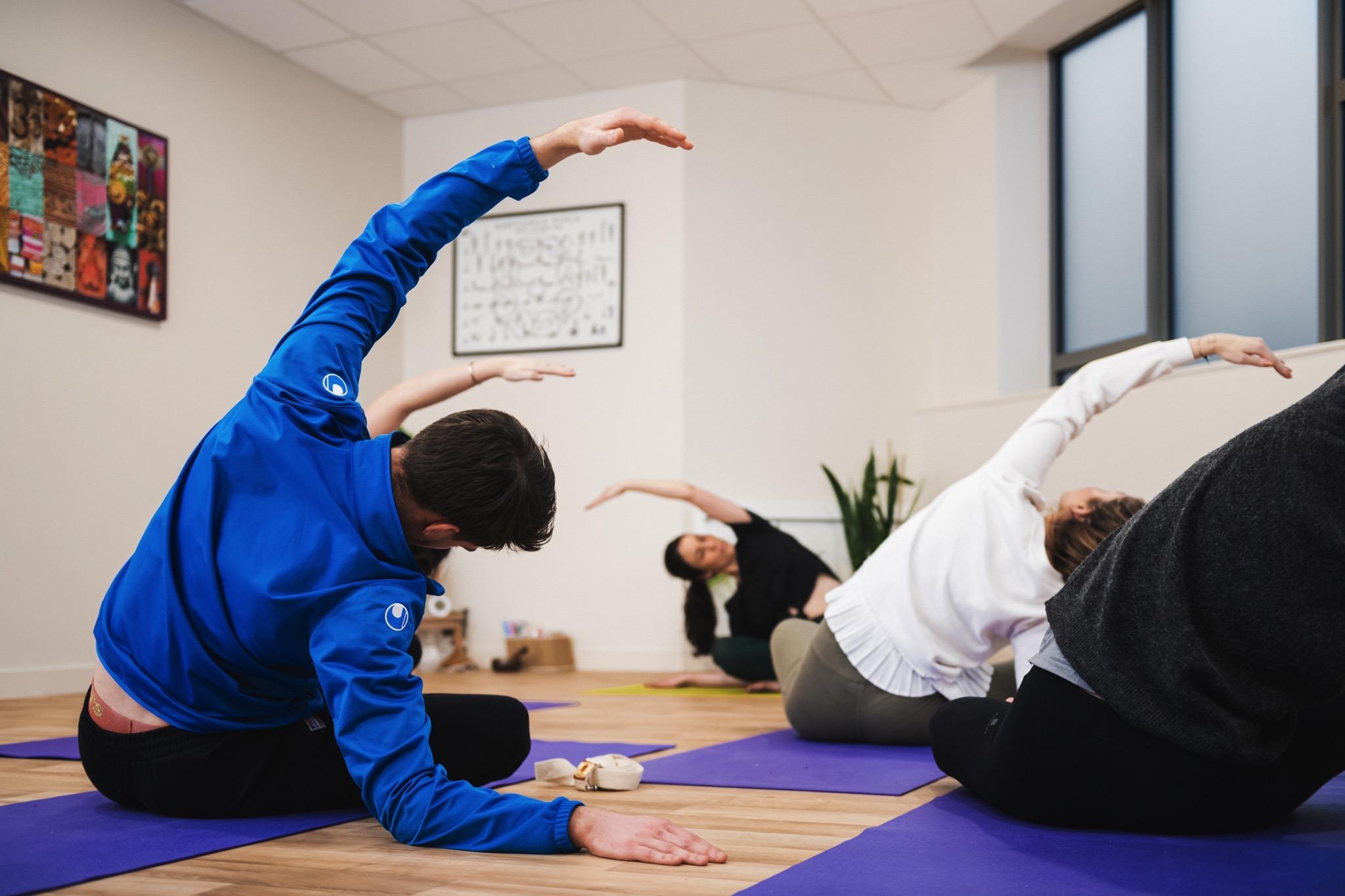 Marie Shanti Yoga professeur cours collectif