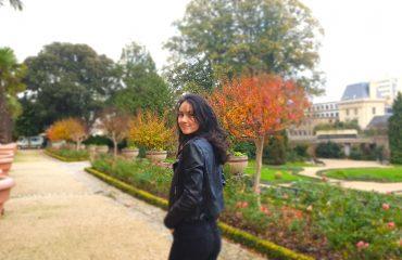 Marie au Parc du Thabor à Rennes