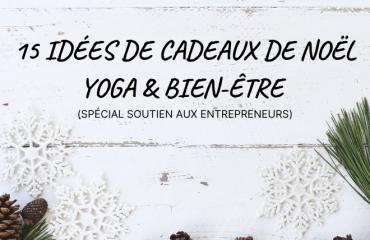 Cadeaux de Noël Yoga et bien-être