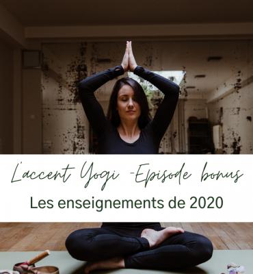 enseignements de 2020 yoga