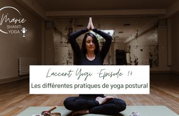 podcast sur les différentes pratiques de yoga